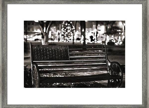 Christmas Framed Print featuring the photograph Remember by Carl Simmerman