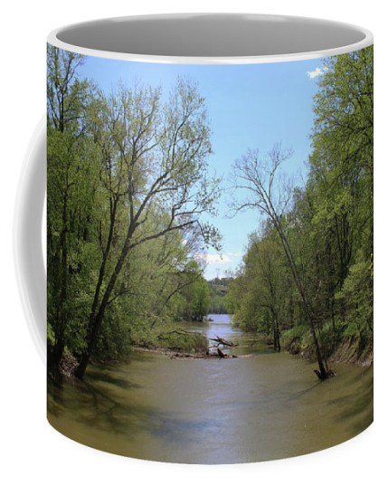 Nature Coffee Mug featuring the photograph Catoctin Creek by Holly Morris