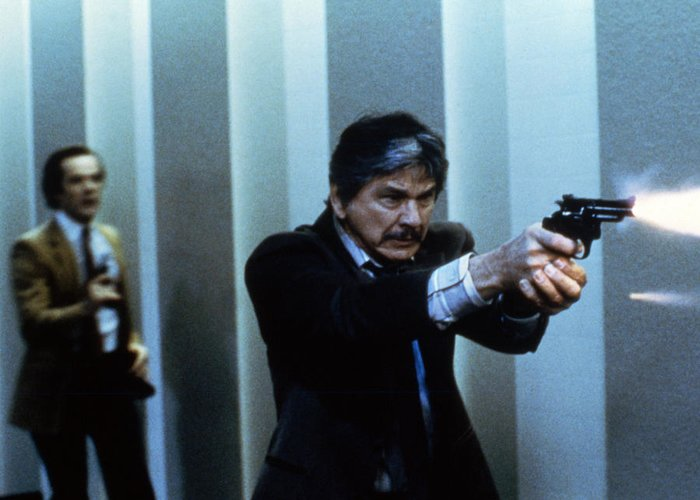Charles Bronson in Murphy's Law Photograph by Silver Screen