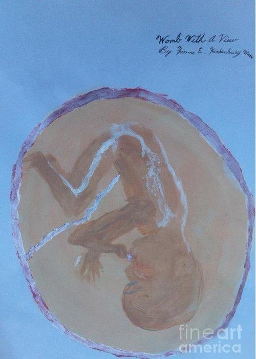 Child In A Womb Greeting Cards