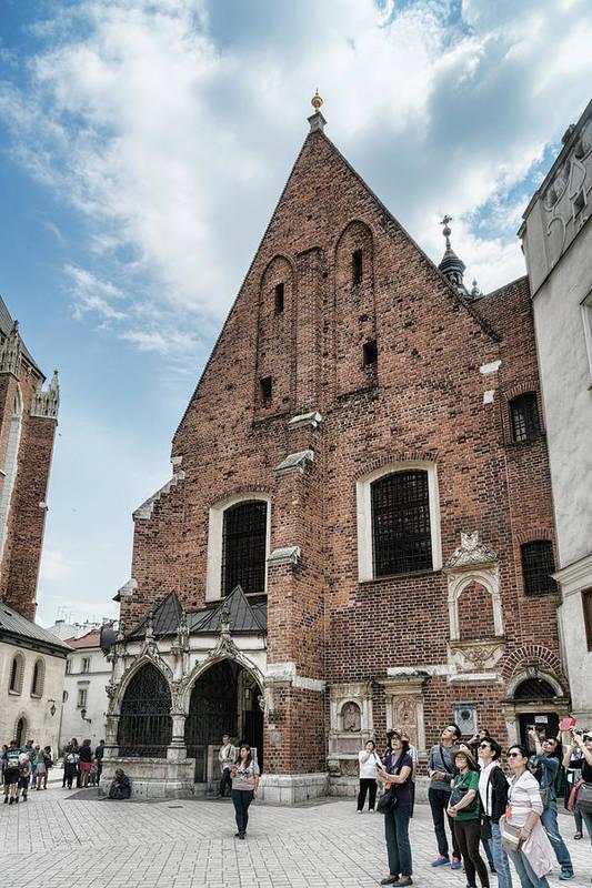 Fascinated in Krakow ©Sharon Popek