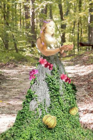 Earth Goddess by Sharon Popek