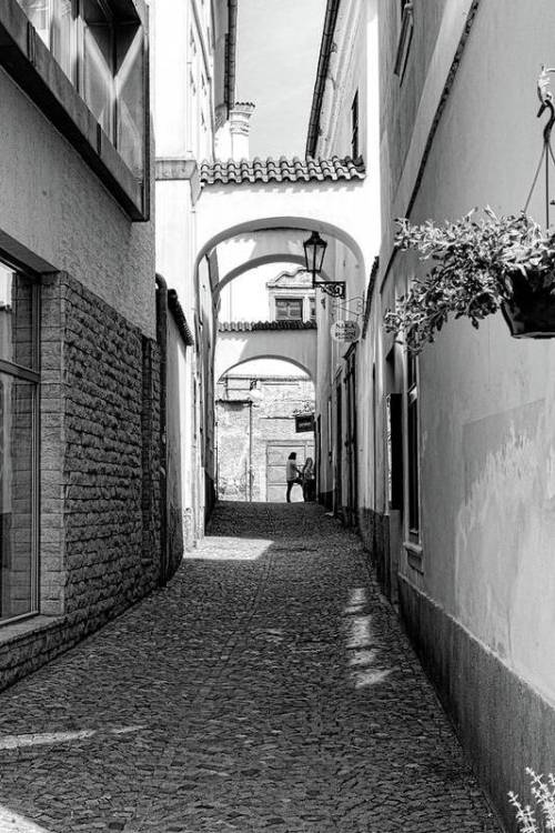 Kutná Hora Alley By Sharon Popek