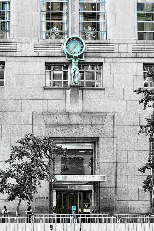 Tiffany's shop clock