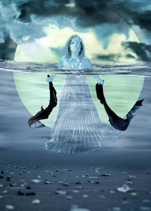 Water Goddess by Sharon Popek