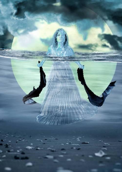 Water Goddess by Sharon Popek