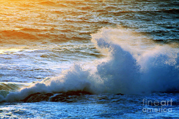 Atlantic Ocean Art Print featuring the photograph End Of The Day by Tatiana Travelways