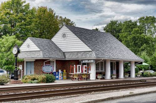 Ashland Train Depot is also the visitor's center