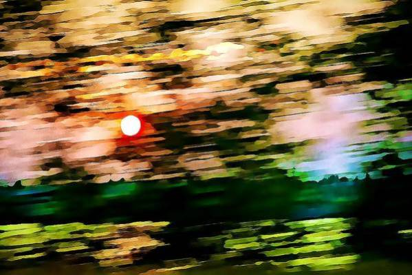 Motion Art Print featuring the photograph Rush To Go Home by Tatiana Travelways