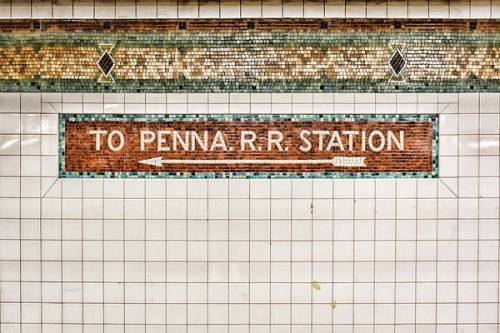 To Penn Station by Sharon Popek