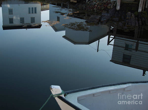 Morning Still Art Print featuring the photograph Morning Still On Fogo Island by Tatiana Travelways