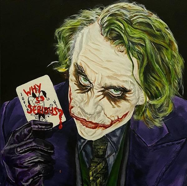 kunstplakate the joker heath ledger
