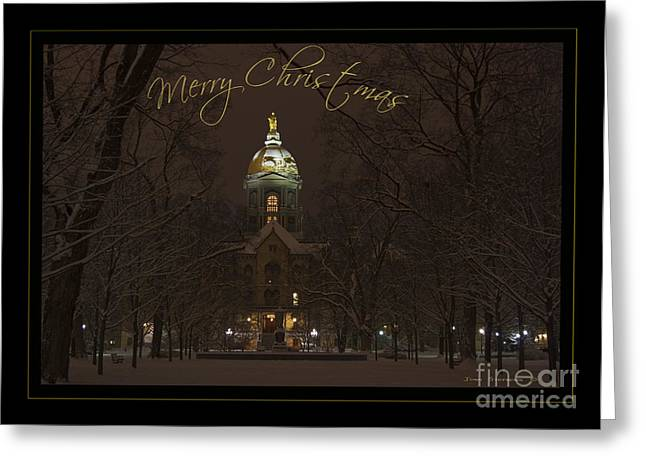 University Of Notre Dame Greeting Cards For Sale