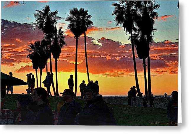 Venice Beach Scene Digital Art By Visual Artist Frank Bonilla