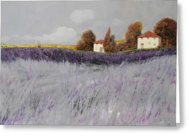 Rural Scenes Paintings Greeting Cards For Sale