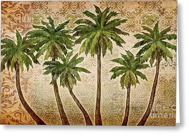 Bali Palms Painting By Paul Brent