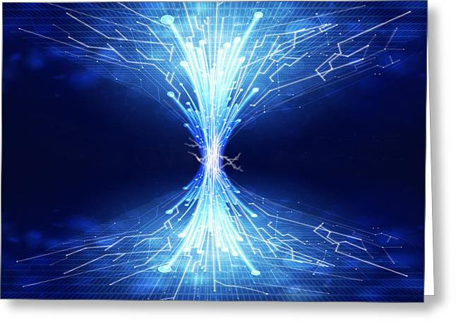 Fiber Optics And Circuit Board Photograph By Setsiri