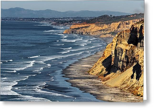 La Jolla Cliffs Over Blacks Photograph By Russ Harris