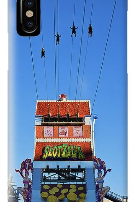 Slotzilla Las Vegas IPhone Case