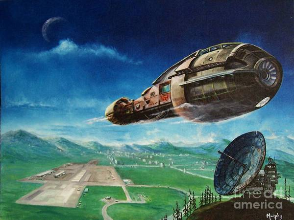 Alien Landscape Paintings Fine Art America