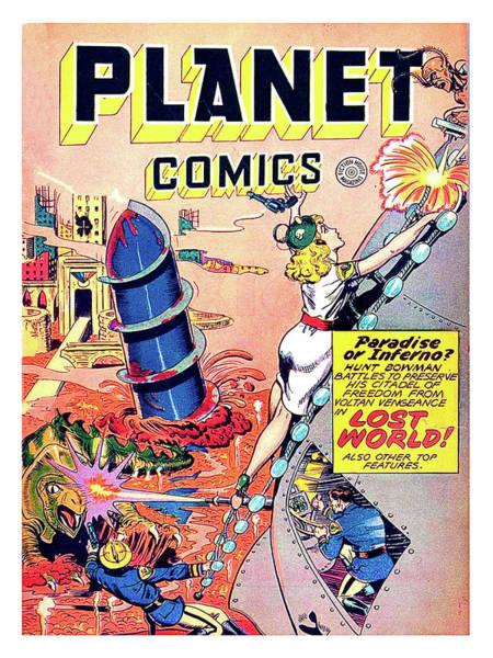 Alien Planet Paintings Fine Art America