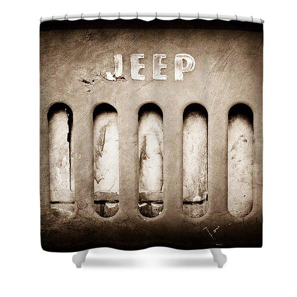 jeep shower curtains fine art america