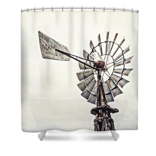 texas windmill shower curtains fine