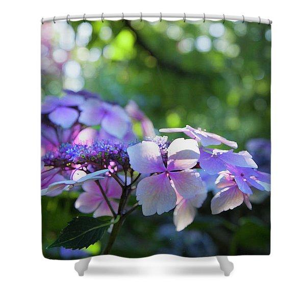 enchanted garden shower curtains fine