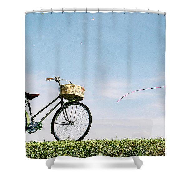 bicycle shower curtains for sale