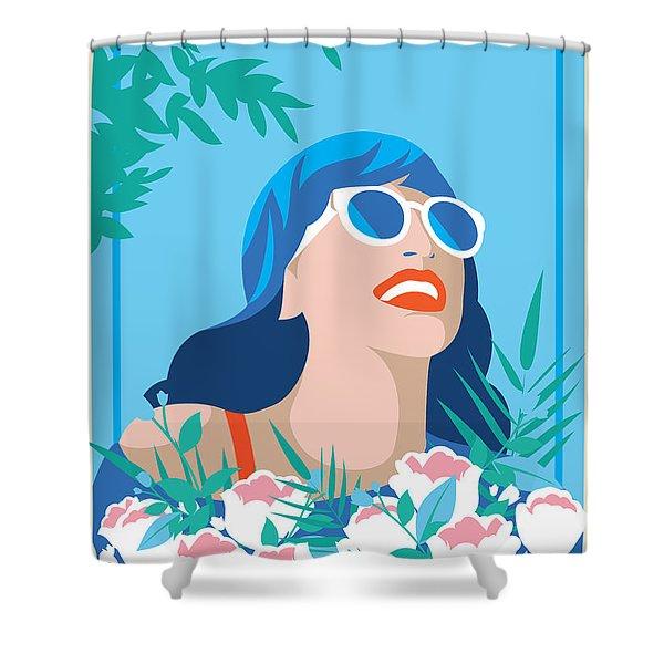 deco shower curtains fine art america