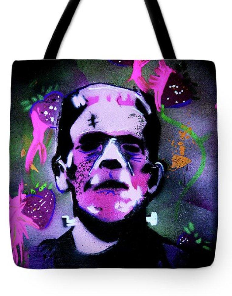 Cereal Killers - Frankenberry Tote Bag by eVol i