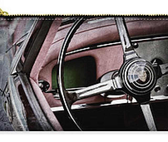 Jaguar Xks Ots Steering Wheel Emblem Ac Carry All Pouch