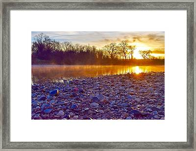 The Golden Hour   Framed Print by Maria Jansson