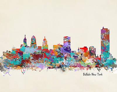 buffalo city posters fine art america