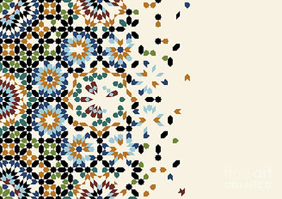 moroccan mosaic tiles posters fine