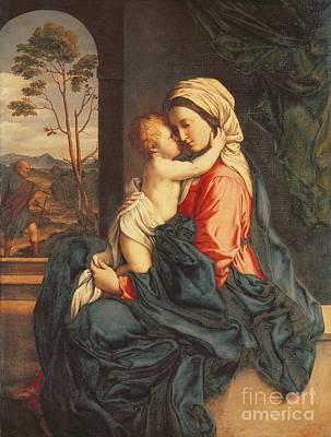 Mary And Jesus Paintings Fine Art America