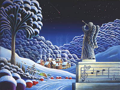 Image result for snow music painting