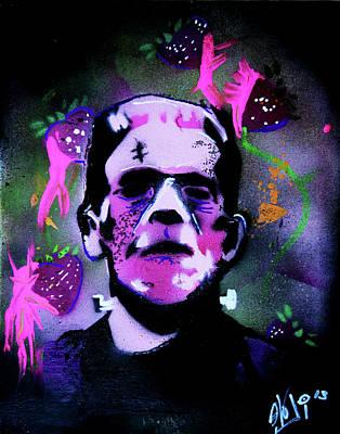 Cereal Killers - Frankenberry Art Print by eVol i