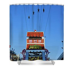 Slotzilla Las Vegas Shower Curtain