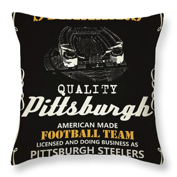 pittsburgh steelers throw pillows