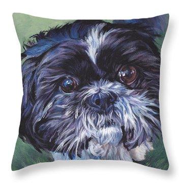 shih tzu throw pillows fine art america