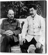 Vladimir Lenin And Joseph Stalin - Gorki - 1922 Photograph ...