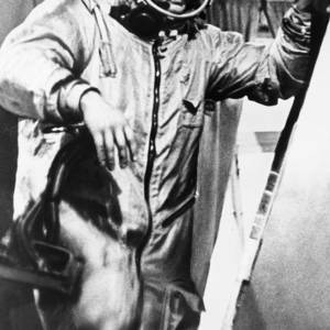 Vladimir Komarov, Soviet Cosmonaut Photograph by Ria Novosti