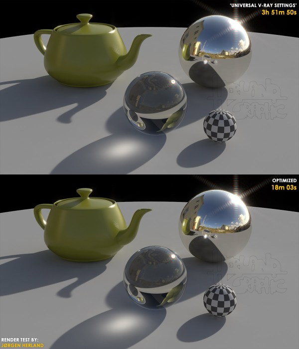 Rendermotion - Optimización de render con Vray