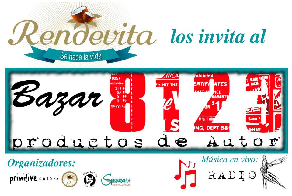 Invitación al Bazar8123, el 5 de mayo