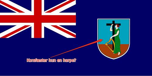 Montserrats flag