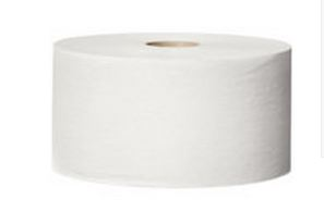 Toiletpapir til midi/maxi dispenser 2-lags 6 rl,