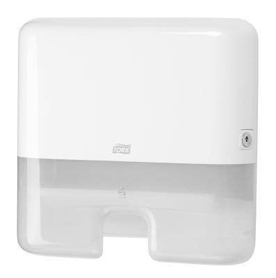 Tork Papirdispenser Z-fold lille (Hvid)