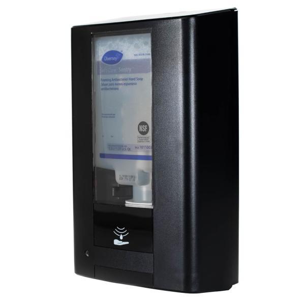 Dispenser touchfree, hvid eller sort, til Diversey 1,3 l flasker
