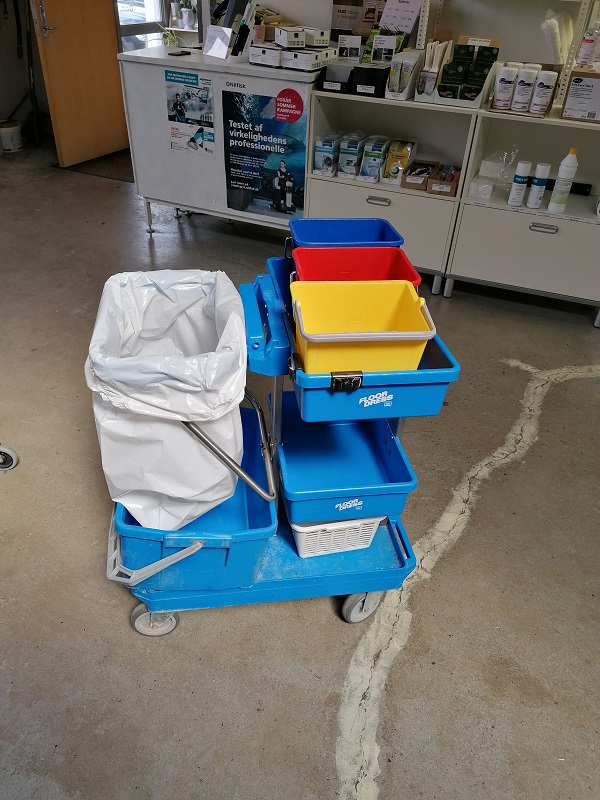 Rengøringsvogn brugt - Ecolab